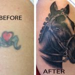Cover up horse tattoo