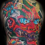 Hanya full back tattoo