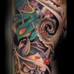 Japanese hanya tattoo