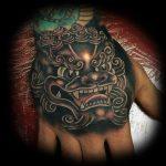 Japanese hand tattoo