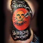 Angelic Upstarts tattoo