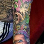 Japanese full colour sleeve