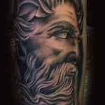 Greek god tattoo