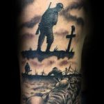 War memorial tattoo