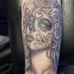Dia di los Muertos tattoo