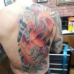 Phoenix back piece