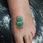 Jelly Baby tattoo