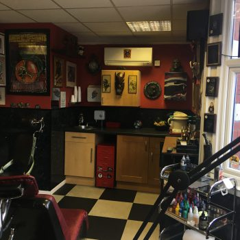 Our tattoo studio Jarrow