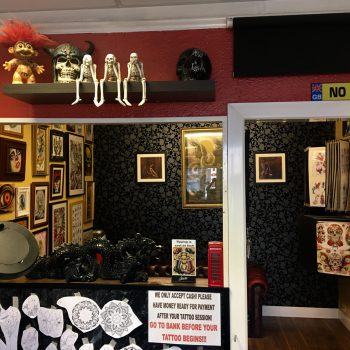 Jarrow tattoo parlour